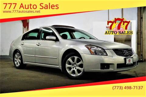 2007 Nissan Maxima for sale at 777 Auto Sales in Bedford Park IL