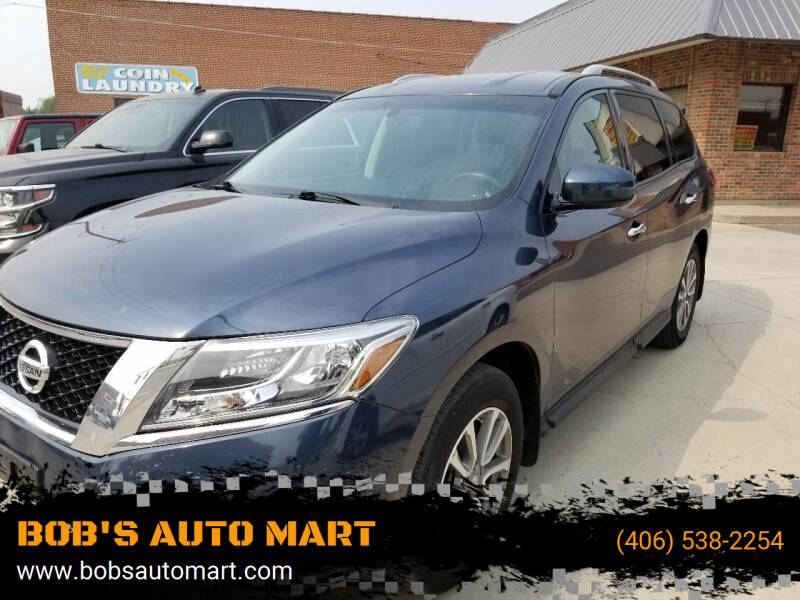 2016 Nissan Pathfinder for sale at BOB'S AUTO MART in Lewistown MT