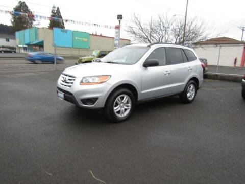 2011 Hyundai Santa Fe for sale at ARISTA CAR COMPANY LLC in Portland OR