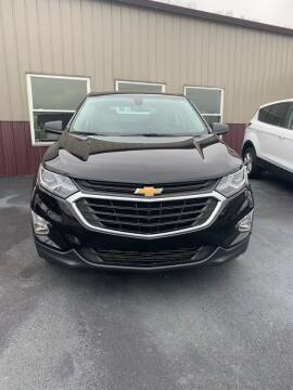 2018 Chevrolet Equinox for sale at RHK Motors LLC in West Union OH
