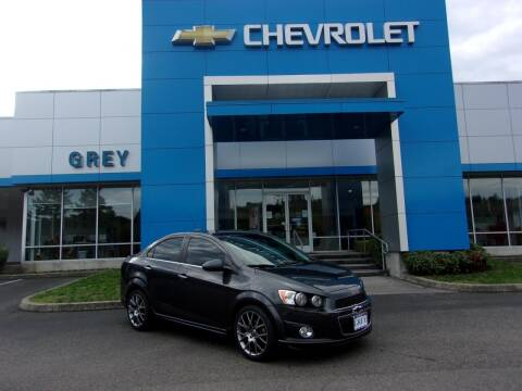 2015 Chevrolet Sonic for sale at Grey Chevrolet, Inc. in Port Orchard WA