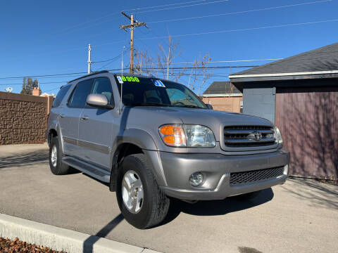 2001 Toyota Sequoia for sale at Berge Auto in Orem UT