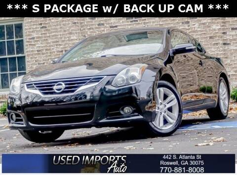 2012 Nissan Altima for sale at Used Imports Auto in Roswell GA