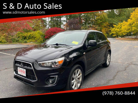 2013 Mitsubishi Outlander Sport for sale at S & D Auto Sales in Maynard MA