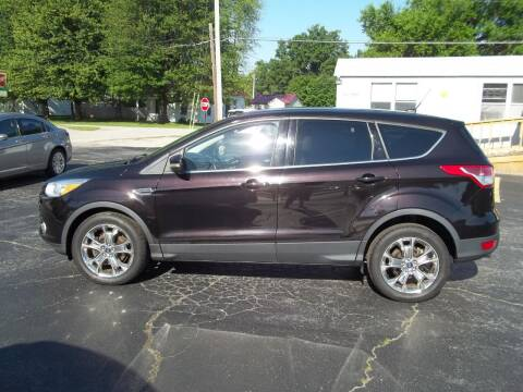2013 Ford Escape for sale at R V Used Cars LLC in Georgetown OH
