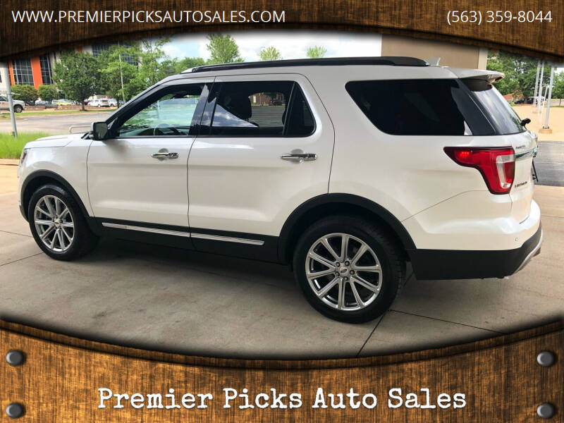 2017 Ford Explorer for sale at Premier Picks Auto Sales in Bettendorf IA