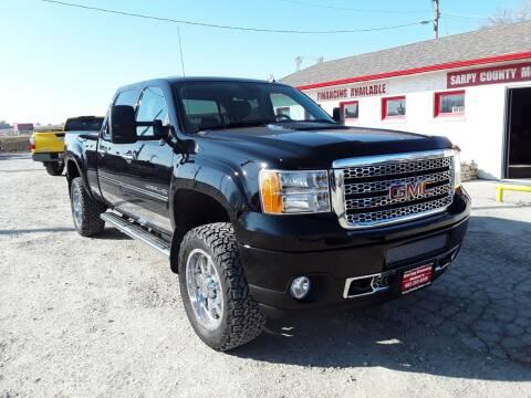 2012 GMC Sierra 2500HD for sale at Sarpy County Motors in Springfield NE