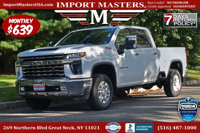 2020 Chevrolet Silverado 3500HD for sale at European Masters in Great Neck NY