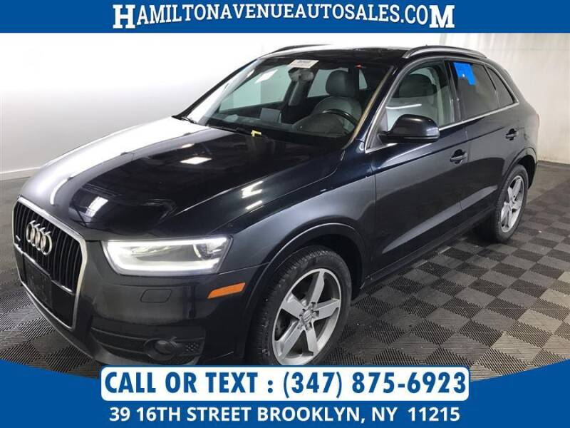 2015 Audi Q3 for sale at Hamilton Avenue Auto Sales in Brooklyn NY