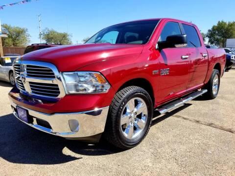 2013 RAM Ram Pickup 1500 for sale at California Auto Sales in Amarillo TX