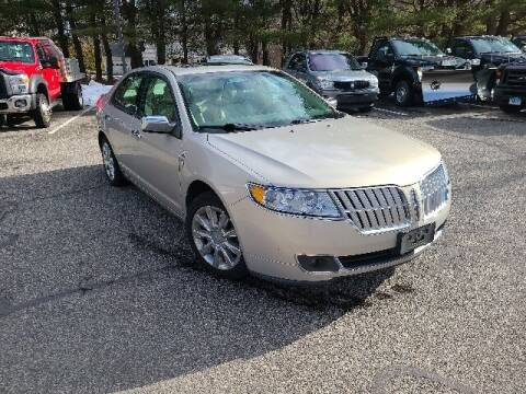2010 Lincoln MKZ for sale at BETTER BUYS AUTO INC in East Windsor CT