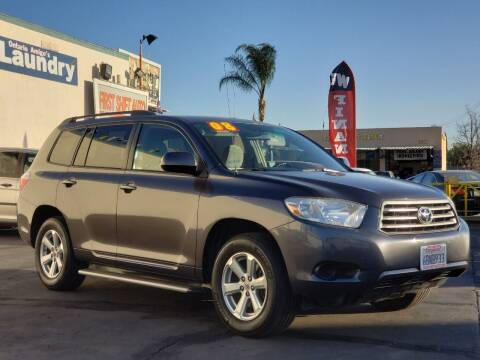 2008 Toyota Highlander for sale at First Shift Auto in Ontario CA