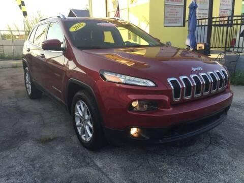 2015 Jeep Cherokee for sale at MIAMI AUTO LIQUIDATORS in Miami FL
