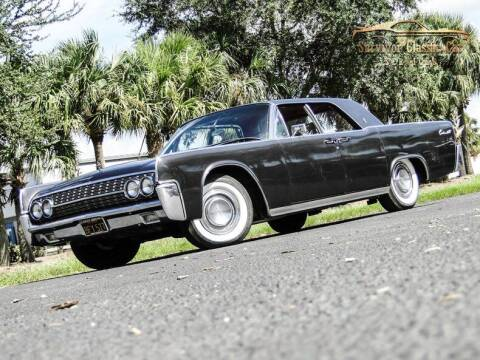 1962 Lincoln Continental for sale at SURVIVOR CLASSIC CAR SERVICES in Palmetto FL