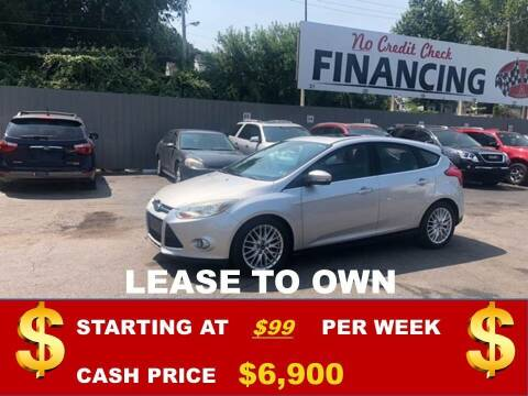 2012 Ford Focus for sale at Auto Mart USA in Kansas City MO