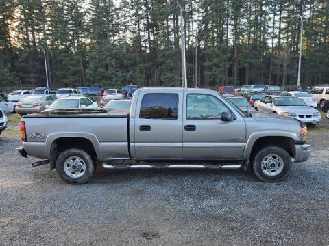 2003 GMC Sierra 2500HD for sale at WILSON MOTORS in Spanaway WA
