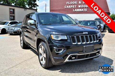 2016 Jeep Grand Cherokee for sale at LAKESIDE MOTORS, INC. in Sachse TX