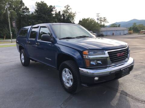 2005 GMC Canyon for sale at KNK AUTOMOTIVE in Erwin TN