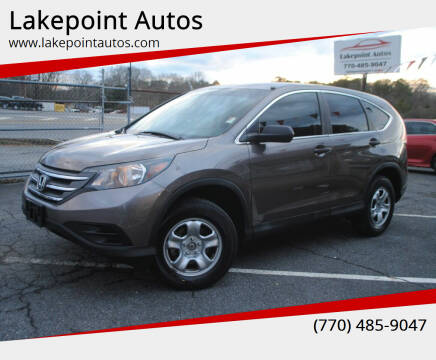2014 Honda CR-V for sale at Lakepoint Autos in Cartersville GA