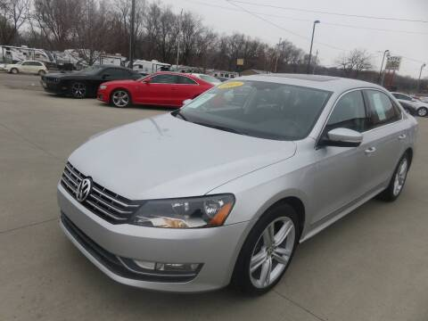 2013 Volkswagen Passat for sale at Azteca Auto Sales LLC in Des Moines IA