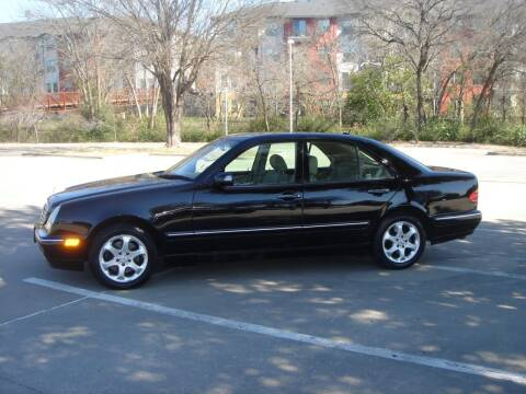 2002 Mercedes-Benz E-Class for sale at ACH AutoHaus in Dallas TX