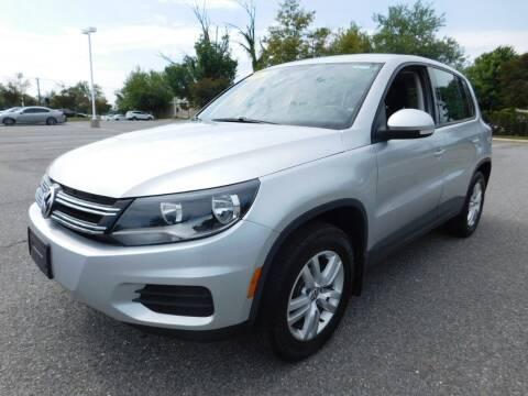 2014 Volkswagen Tiguan for sale at AMERICAR INC in Laurel MD