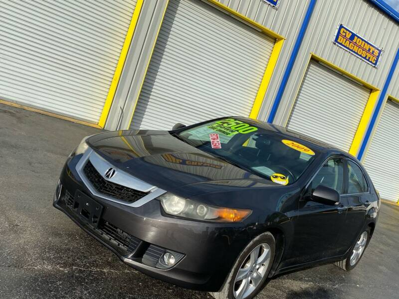 2009 Acura TSX for sale at RoMicco Cars and Trucks in Tampa FL