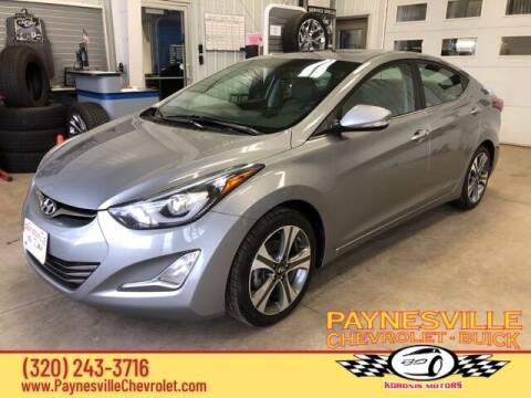 2014 Hyundai Elantra for sale at Paynesville Chevrolet - Buick in Paynesville MN