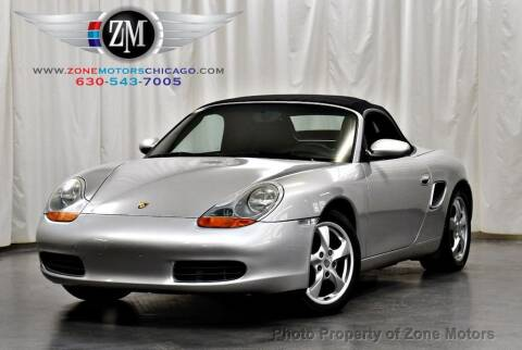 2002 Porsche Boxster for sale at ZONE MOTORS in Addison IL