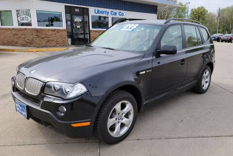 2007 BMW X3 for sale at Liberty Car Company in Waterloo IA
