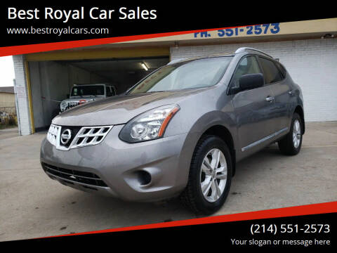 2015 Nissan Rogue Select for sale at Best Royal Car Sales in Dallas TX