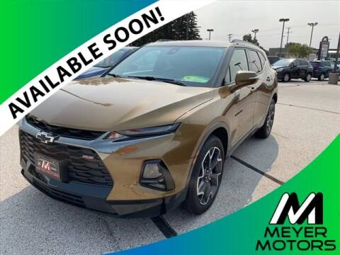 2019 Chevrolet Blazer for sale at Meyer Motors in Plymouth WI