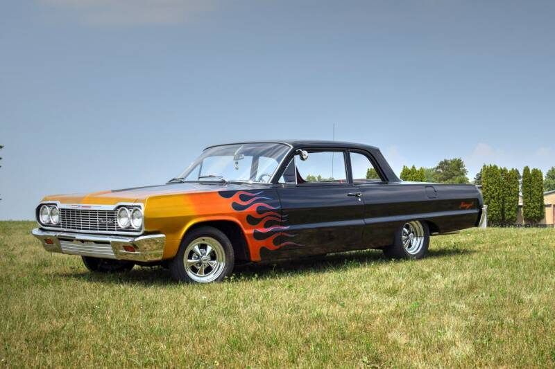 1964 Chevrolet Biscayne for sale at Hooked On Classics in Watertown MN