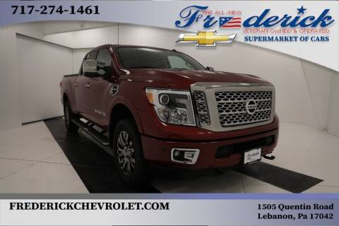 2016 Nissan Titan XD for sale at Lancaster Pre-Owned in Lancaster PA