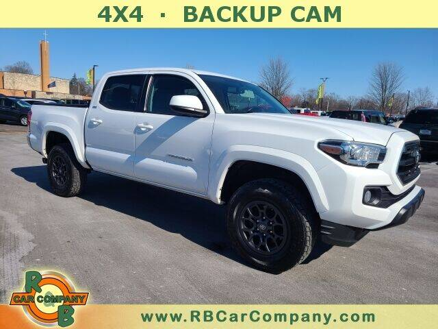 2017 Toyota Tacoma for sale at R & B CAR CO - R&B CAR COMPANY in Columbia City IN