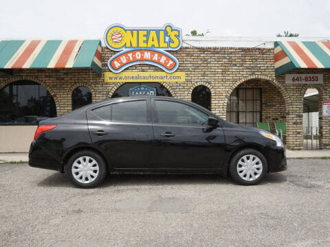 2018 Nissan Versa for sale at Oneal's Automart LLC in Slidell LA