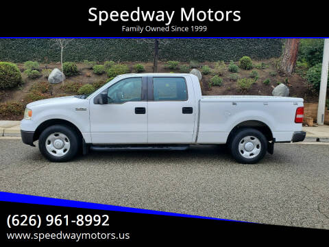 2008 Ford F-150 for sale at Speedway Motors in Glendora CA