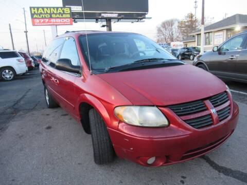 2005 Dodge Grand Caravan for sale at Hanna's Auto Sales in Indianapolis IN