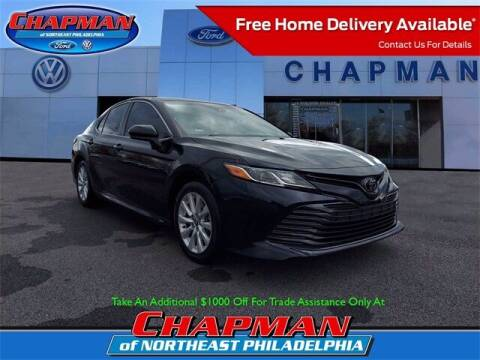 2018 Toyota Camry for sale at CHAPMAN FORD NORTHEAST PHILADELPHIA in Philadelphia PA