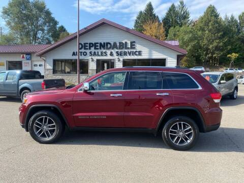 2017 Jeep Grand Cherokee for sale at Dependable Auto Sales and Service in Binghamton NY