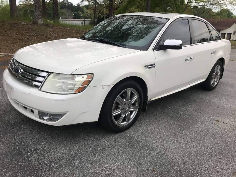2009 Ford Taurus for sale at Happy Days Auto Sales in Piedmont SC