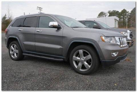 2012 Jeep Grand Cherokee for sale at WHITE MOTORS INC in Roanoke Rapids NC