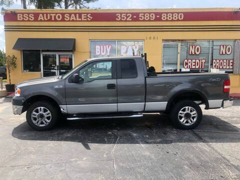 2007 Ford F-150 for sale at BSS AUTO SALES INC in Eustis FL