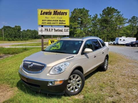 2012 Buick Enclave for sale at Lewis Motors LLC in Deridder LA