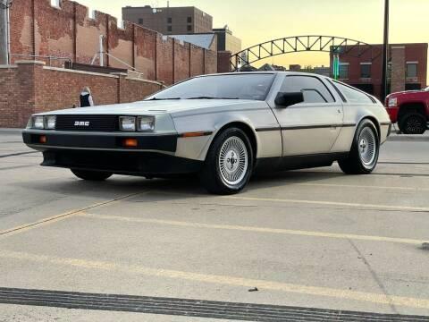 1982 DeLorean DMC-12 for sale at Euroasian Auto Inc in Wichita KS