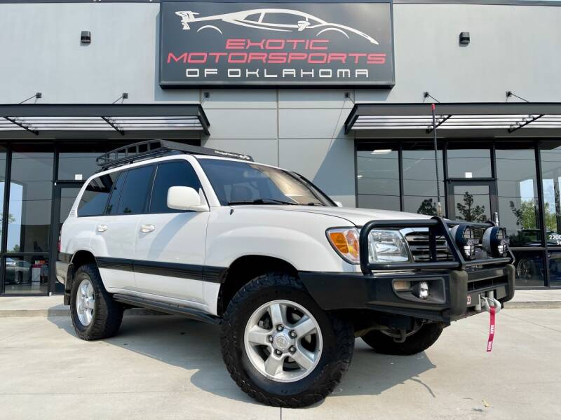 2005 Toyota Land Cruiser for sale at Exotic Motorsports of Oklahoma in Edmond OK