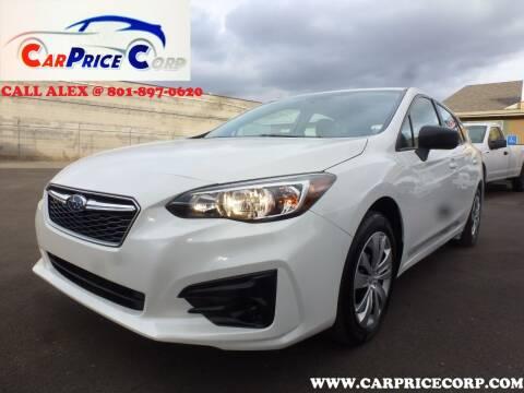 2019 Subaru Impreza for sale at CarPrice Corp in Murray UT