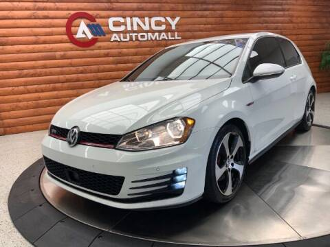2015 Volkswagen Golf GTI for sale at Dixie Motors in Fairfield OH