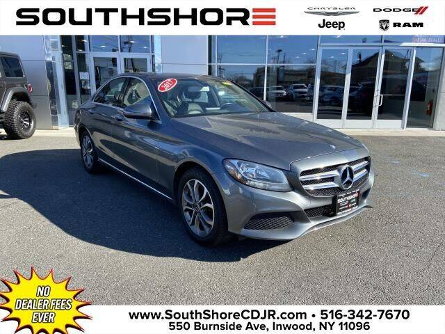 2017 Mercedes-Benz C-Class for sale at South Shore Chrysler Dodge Jeep Ram in Inwood NY
