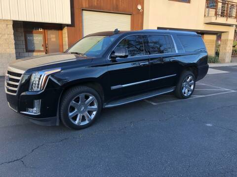2017 Cadillac Escalade ESV for sale at Inland Valley Auto in Upland CA